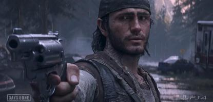 Days Gone aim setting, best days gone aim setting, open world zombie game ps4, days gone open world, deacon st. john, Deacon of days gone aiming, Days gone deacon aiming at freaker,