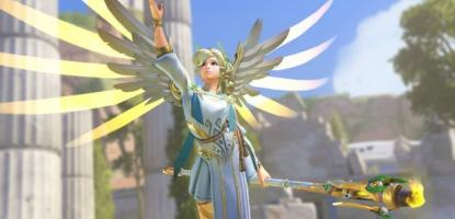 Mercy Winged Victory Skin