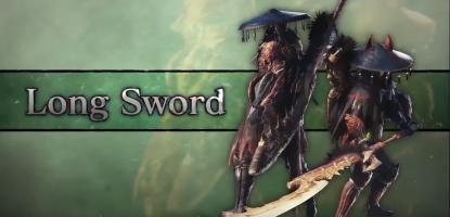 Monster Hunter, World, Iceborne, Weapons, Longsword