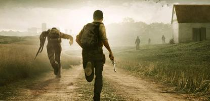Games Like DayZ Players running into the bleak distance