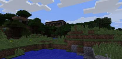 Mansion World Seed displayed in Creative Mode.