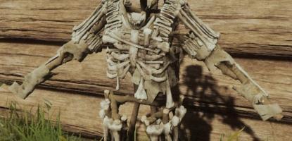 The Forest - Bone Armor Rack