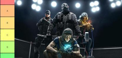 Rainbow 6 siege tier list 2019
