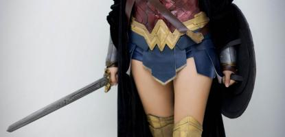 Ross Diong as Wonder Woman
