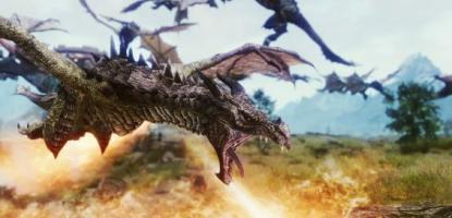 Realistic Skyrim Dragon