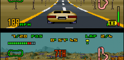 Split-Screen Racing Games