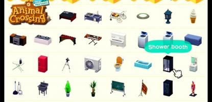 Animal Crossing Furniture