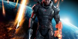 Commander Shepard in Mass Effect 3