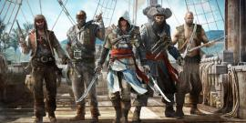 An assassin backed by his band of merciless pirates.