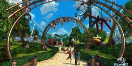 Planet Coaster, Frontier, PC, Steam, Them Park, Roller Coaster Sim, Simulation