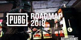 pubg, playerunknown's battlegrounds, 2018, roadmap