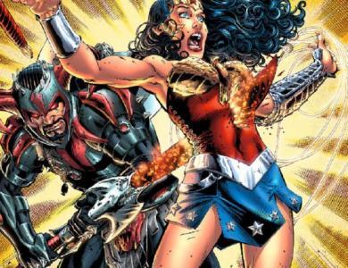 Steppenwolf killing Wonder Woman