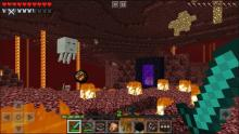 You'll never carve through the nether hordes without an enchanted blade