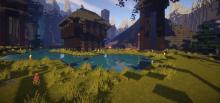 See the world of Minecraft in bright and vivid HD