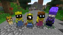 Check out the adorable minion skins!
