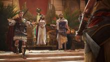Just like the other games in the franchise, Origins is filled with historical characters, such as Cleopatra and Julius Caesar.