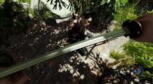 The Katana formerly belonged to a member of the Yakuza in The Forest.