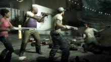 Team up with friends to survive a zombie apocolypse
