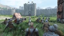 Gameplay of the castle storming mode