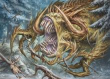 Devastating beast from magics history