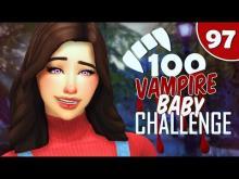 <The Sims 4>-<100 Vampire Baby Challenge>