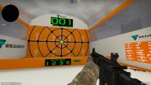 Train your aim on a variety of weapons on aim workshop maps