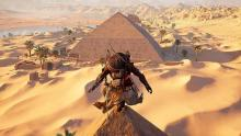 Player is on top of pyramids of Giza