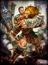 Hercules is a Roman Warrior and is the 3rd best Warrior in SMITE