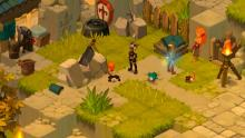 Beautifully rendered 3-D comic book art styles catch the gamer's eye in Wakfu Online!