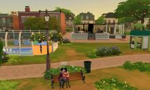 Goth, Willow Creek, Sims 4, Neighborhood