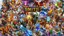 Collection of Smite Gods