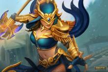 Smites Warrior Godess