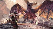 Monster Hunter knows its way around cinematic boss battles.