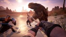 If it's big, and trying to kill you, Conan Exiles has got it; work as a team with your friends if you want to stand a chance