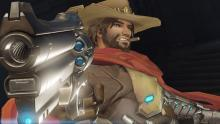 McCree about to fire his six-shooter