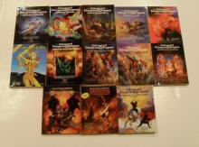 The 13 books of Advanced Dungeons and Dragons