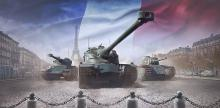 Tier X heavy Amx 50b, tier VI heavy Arl 44 with tier VIII premium medium Lorraine 40t. Amx 50B and Lorraine 40t's turret design looks similar, because they are using autoloader both