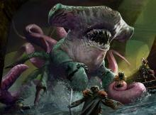A mutated member of the Simic guild