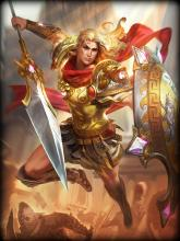 Achilles is a Greek Warrior and is the best Warrior in SMITE