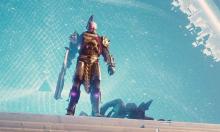Our Titan Messiah, Saint-14 emerging from a portal.
