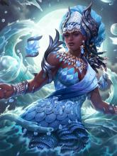 Yemoja is a Yoruba Guardian and ranks 1st overall for the best guardians in SMITE