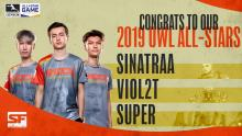 The 2019 All Stars from San Francisco Shock