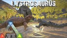 Player is taming Lystrosaurus