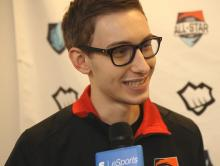 As one of NA's top players, Bjergsen always has to be ready for a post-game interview.