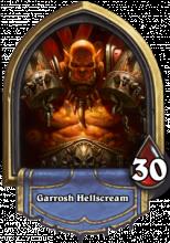 Warrior is my favorite class but Garrosh Hellscream is a tough class to do right.
