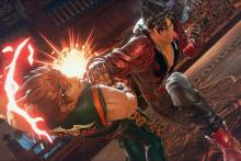 Long-term rivals Jin and Hwoarang engage in their penultimate battle.