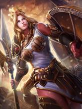 Athena is a Greek Guardian and is the 2nd best Guardian in SMITE