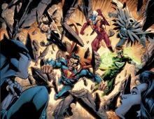 Crime Syndicate of America is a polar opposite of the Justice League from Earth 3