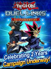 Promotional artwork for the 2nd Anniversary of Duel Links!