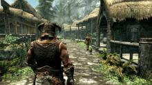 Skyrim boasts scenic views and lively towns that immerse players.